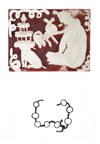 'Broken collier' - 60x80cm