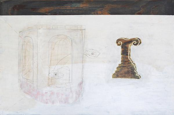 'Historisk tid' III - 60x40cm