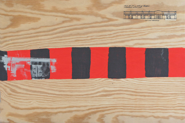 'Historisk tid' II - 60x40cm
