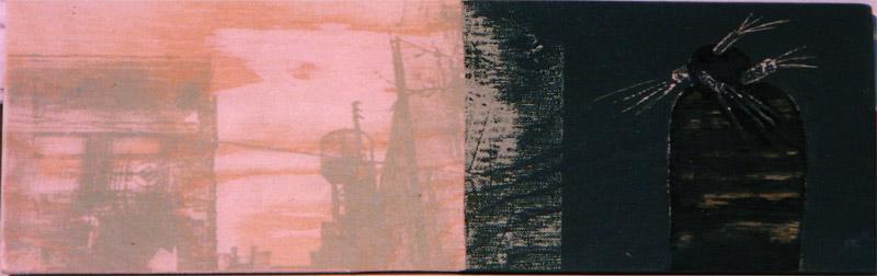 'Fra Ålekistevej til N.Y.' IV - 30x10cm