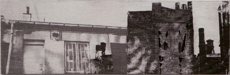 'Fra Ålekistevej til N.Y.' III - 30x10cm