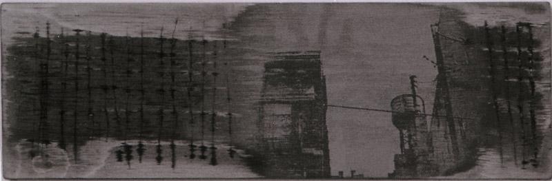 'Fra Ålekistevej til N.Y.' II - 30x10cm